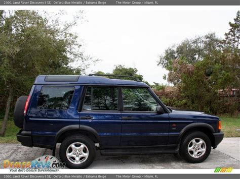 blue land rover discovery 2001 land rover discovery ii se oxford blue metallic