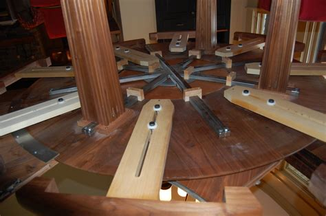 expandable dining table plans extendable dining table plans woodguides