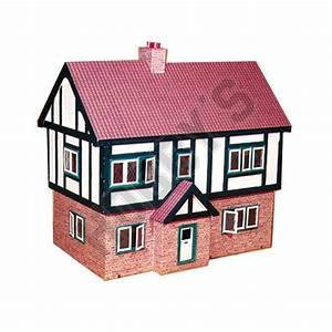 Shop Plan- Tudor Style Dolls House Hobby uk com Hobbys