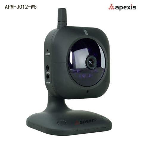 camera ip wireless de interior fixa apexis apm  ws