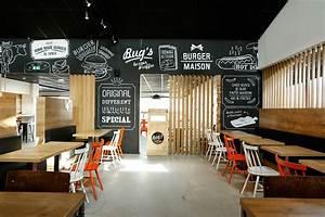 Fast Food Restaurant Design Layout Kitchen And Interior