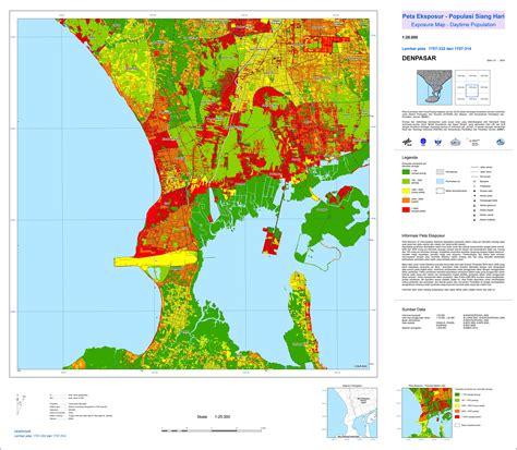 tsunami kit tsunami risk map bali