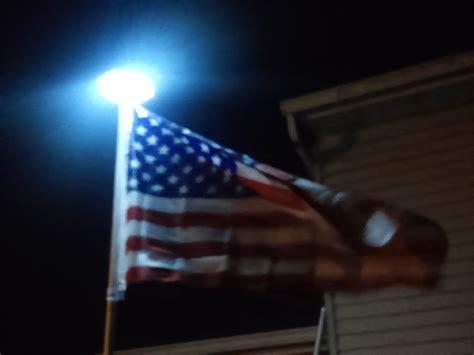 solar light for flag row solar flagpole top light product details