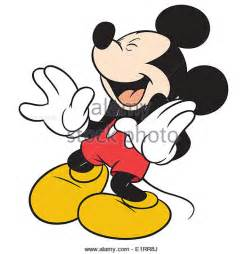 Mickey Mouse Laughing Clip Art