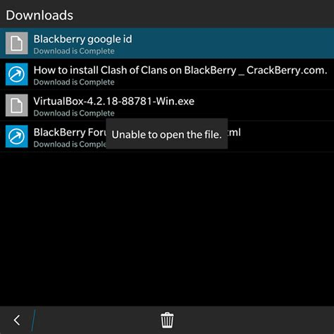 why id unable to install blackberry at crackberry com