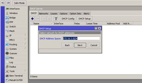 setting router mikrotik ip static ip dynamic pppoe