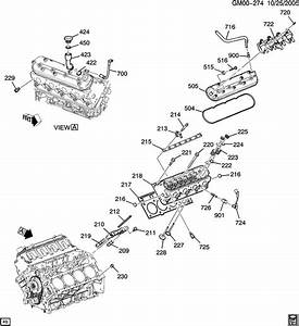 Cadillac Escalade Fitting  Engine Crankcase Ventilation