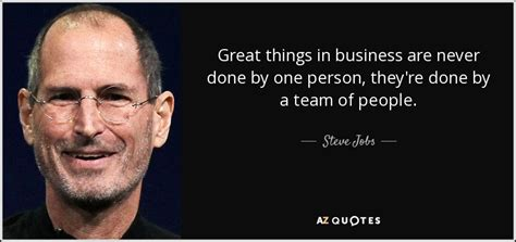 steve jobs quote great   business