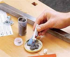 Holz Löcher Füllen : risse in metall ausf llen metall kunststoff ~ Watch28wear.com Haus und Dekorationen