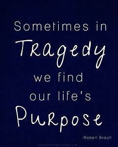Honoring Our Angels: Tragedy Quote
