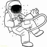 Astronaut Coloring Pages Nasa Spaceship Realistic Clipart Space Drawing Helmet Line Crayola Printable Rocket Getdrawings Clipartmag Children sketch template