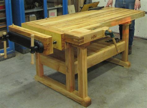 woodworking benches monk creek