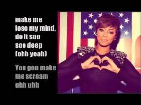 teyana taylor wtp lyrics keri hilson scream lyrics youtube