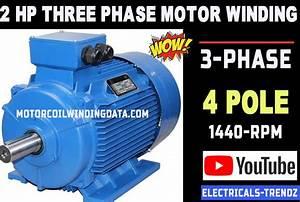 3 Phase Motor Winding Calculation 3phase Induction Motor