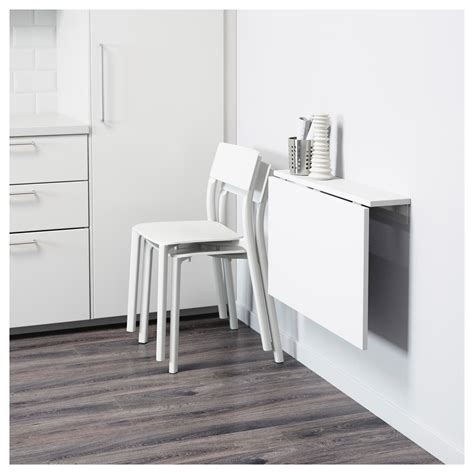 wall mounted pull out desk norberg wall mounted drop leaf table white 74x60 cm ikea