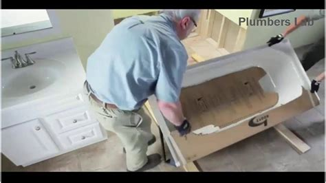 How To Install Tub Wiring how to install a bathtub step by step installation process
