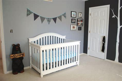 chambre bébé unisex décoration chambre d enfant grise