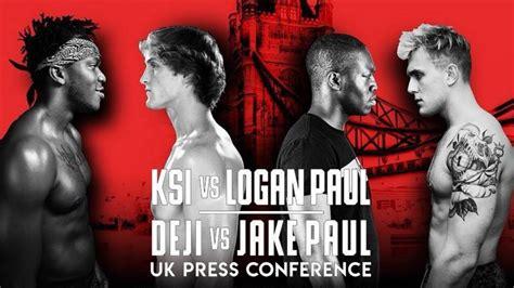 logan paul  ksi fight full video hd press conference