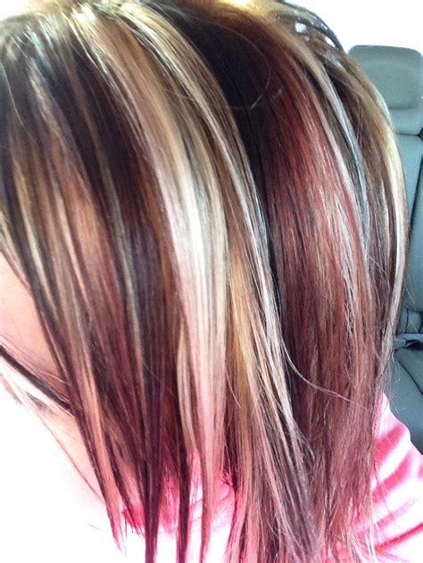 chunky hair color hair colors idea