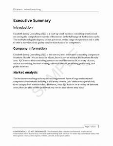 elizabeth jamey consulting business plan v3 page 04 ej With business plan template for consulting firm