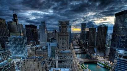 Chicago 4k Skyline Hdr Wallpapers Skyscrapers Ultra