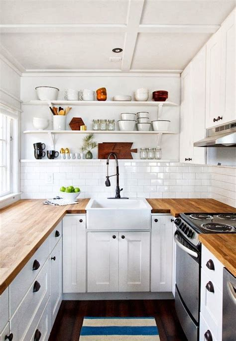 white kitchen cabinets with butcher block countertops the world s catalog of ideas 2204