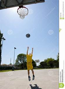 Little Boy Playing Basketball Stock Photo - Image: 25927492