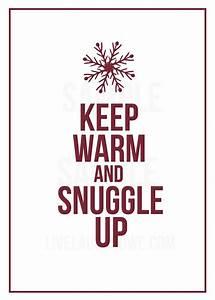 Winter Printabl... Warm Cozy Christmas Quotes