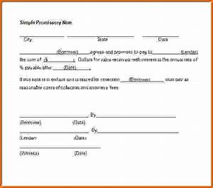 6 free promissory note template wordreference letters With free online promissory note template