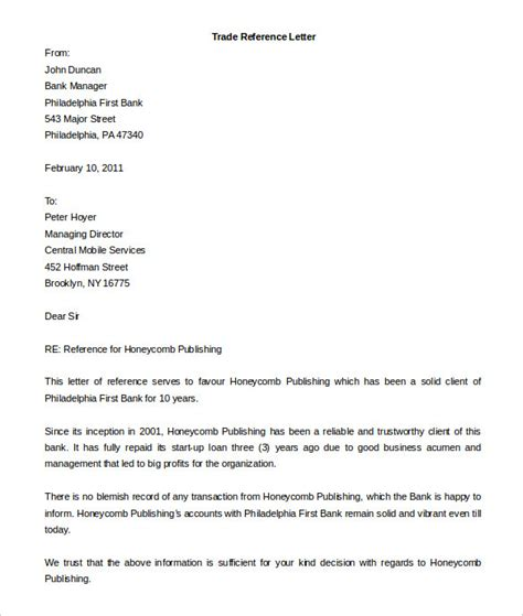 free reference letter template 25 free word pdf