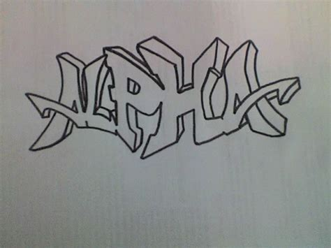 Graffiti Easy : Simple Graffiti By Bozofoda182 On Deviantart