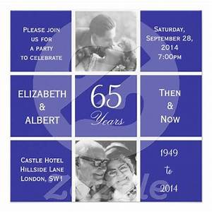 modern squares 65th sapphire wedding anniversary custom With 65th wedding anniversary gifts