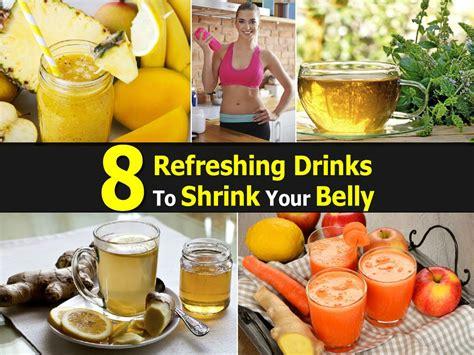refreshing drinks  shrink  belly
