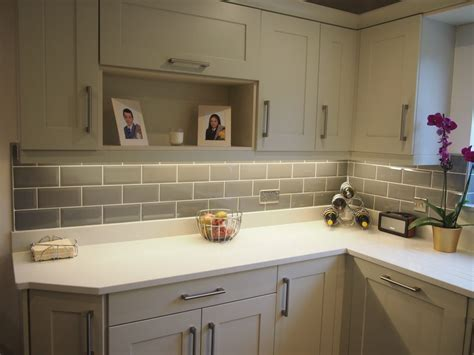 painted mussel shaker fitted kitchen  gallery fitted