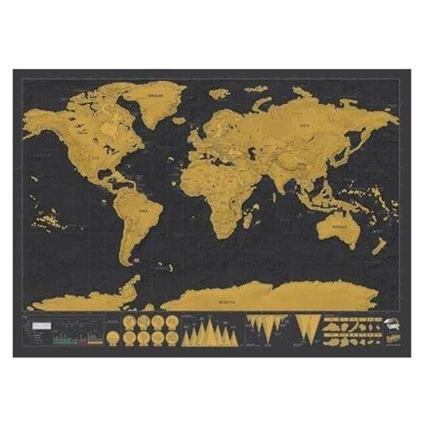 Carte De à Gratter Pas Cher carte du monde a gratter achat vente carte du monde a