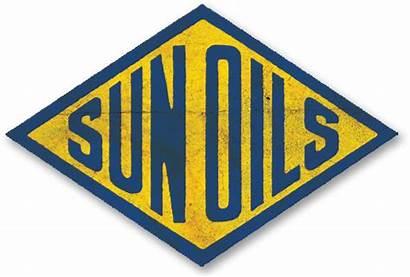 Sunoco Oil Sun Company Sign History Petroleum