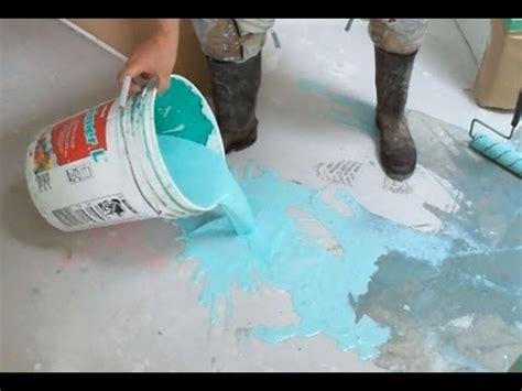 concrete primer application    leveling