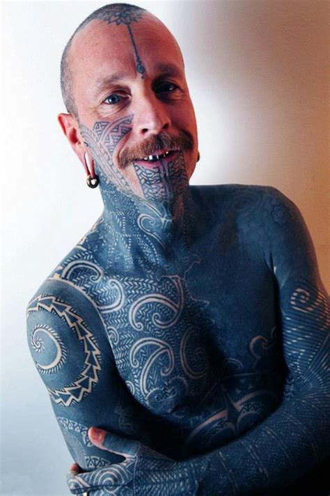 Onefifth Of Every British Adult Has Tattoo Meet The Most