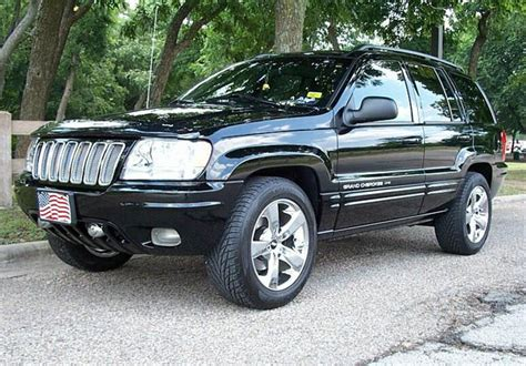 2004 jeep grand cherokee custom jeep grand cherokee wj with custom grille jeep grand