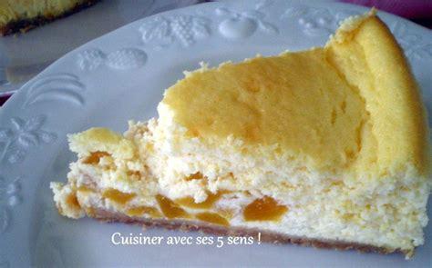 cheesecake de p 234 ches 224 la sauge cuisiner avec ses 5 sens