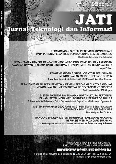 Jurnal Teknologi dan Informasi (JATI) - Neliti