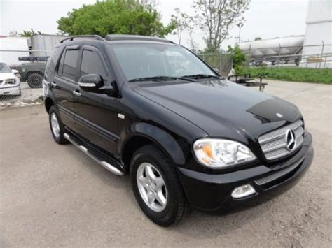 The ml class (w163) model is a car manufactured by mercedes benz, sold new from year 2001 until 2002, and available after that as a used car. 2001 Mercedes-Benz ML 320 4Matic Data, Info and Specs | GTCarLot.com