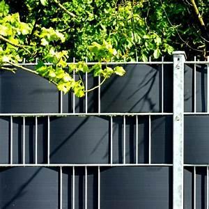 Doppelstabmattenzaun Anthrazit 8 6 8 : hart pvc sichtschutzstreifen doppelstabmatten anthrazit ~ Buech-reservation.com Haus und Dekorationen
