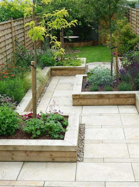 garden design minimalist garden design  ceramic floor  wooden   foundation