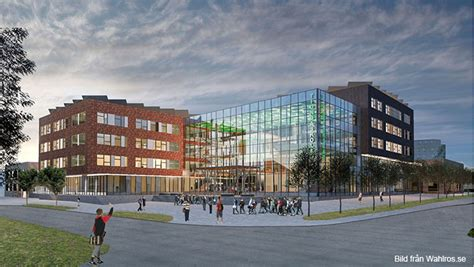 Ny skola i Uppsala - Drottningholms Entreprenad AB - deab