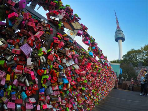 Lockets of Love at N Seoul Tower – IBeNimages & Words