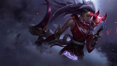 Blood Moon Wallpapers Diana Animated Lol League