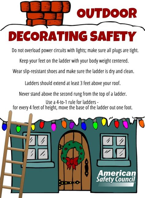 outdoor holiday decorating safety   chance  win
