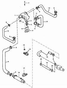 Standard Cooling System Bravo Engines For Mercruiser 5 7l  Lx Tbi Alpha  U0026 Bravo 2bbl  4bbl