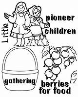 Pioneer Clipart Children Coloring Csb Happy Link Clipground Visit Template sketch template